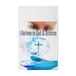 I Believe In God & Science Tea Towel