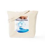 I Believe In God & Science Tote Bag