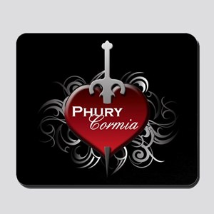 Tribal Heart Mousepad - Phury and Cormia