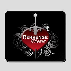 Tribal Heart Mousepad - Rehvenge and Ehlena