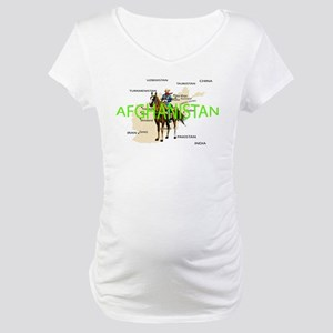 Cav in Afghanistan Maternity T-Shirt