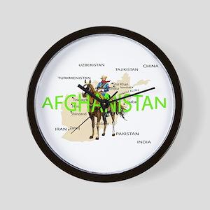 Cav in Afghanistan Wall Clock