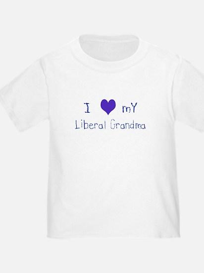 I Love My Liberal Grandma T