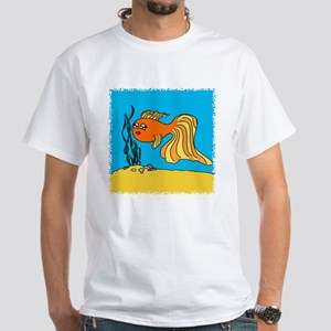 Goldfish White T-Shirt