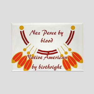 """Nez Perce"" Rectangle Magnet"
