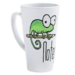 Notepad++ 17 oz Latte Mug