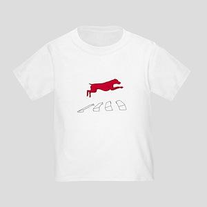 Vizsla over the Broad Jump Toddler T-Shirt