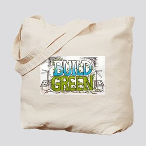 Build Green Tote Bag