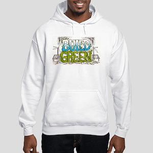 Build Green Hooded Sweatshirt
