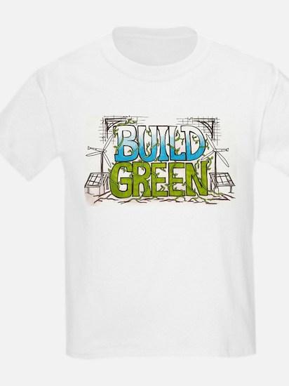 Build Green Kids T-Shirt