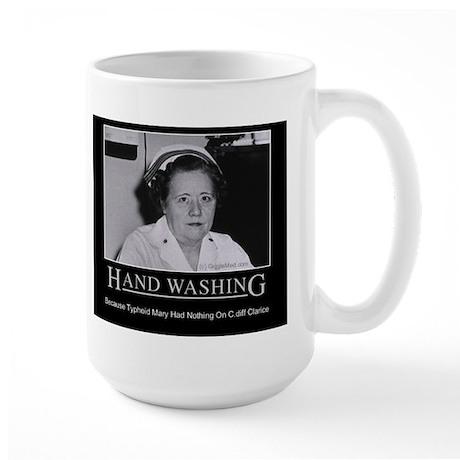 Infection Control Humor 02 Large Mug
