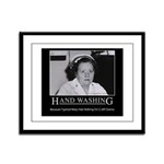 Infection Control Humor 02 Framed Panel Print