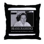 Infection Control Humor 02 Throw Pillow