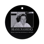 Infection Control Humor 02 Ornament (Round)