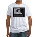 Infection Control Humor 02 Fitted T-Shirt