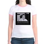 Infection Control Humor 02 Jr. Ringer T-Shirt