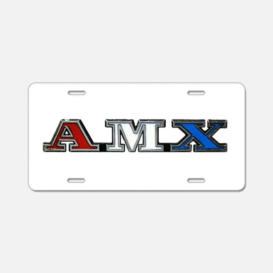 AMX Aluminum License Plate