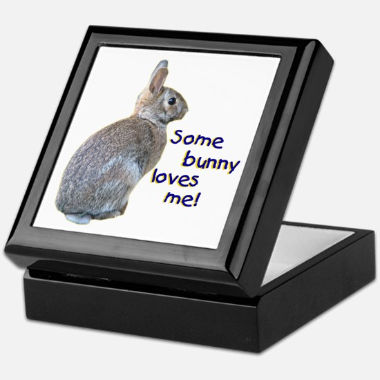 Some Bunny Loves Me Keepsake Box