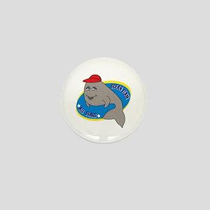 Ocean Team All Stars Whale Mini Button
