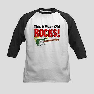 This 6 Year Old Rocks Kids Baseball Jersey
