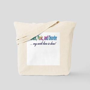 Chaos, Panic, and Disorder! Tote Bag
