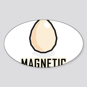 Magnetic Sticker (Oval)