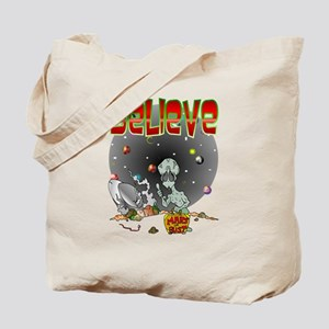 Alien CRASH Tote Bag