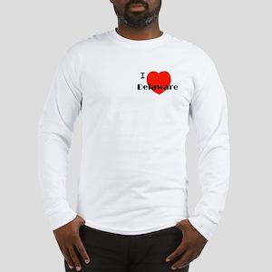 I love Delaware! Long Sleeve T-Shirt