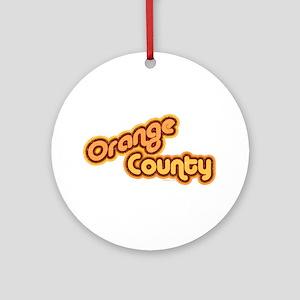 Orange County OC 2 Ornament (Round)