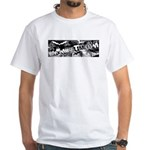 BMXMUSEUM CHAINWHEEL LOGO White T-Shirt