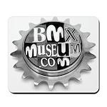 BMXMUSEUM free WHEEL LOGO Mousepad