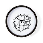 BMXMUSEUM CHAINWHEEL LOGO Wall Clock