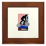 BMXMUSEUM CHAINWHEEL LOGO Framed Tile