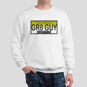 Great Guy NJ Vanity License P Sweatshirt