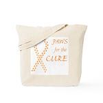 Orange Paws Cure Tote Bag