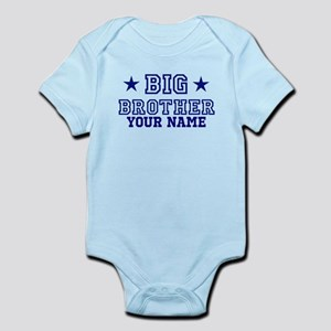Big Brother Sport Personalize Infant Bodysuit