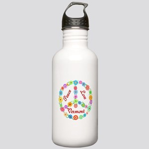 Peace Love Vermont Stainless Water Bottle 1.0L