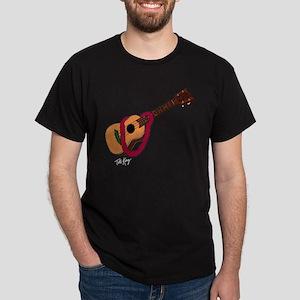 Ukulele_shirt_blk T-Shirt