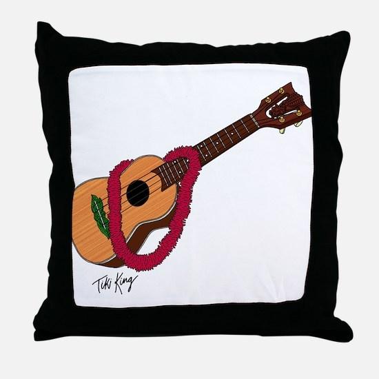 Unique Ukalele Throw Pillow