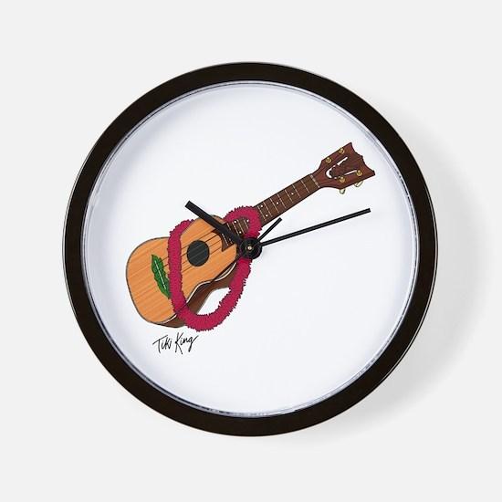 Cute Ukelele Wall Clock