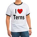 I Love Terns Ringer T