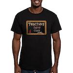 Teachers Have Class Men's Fitted T-Shirt (dark)