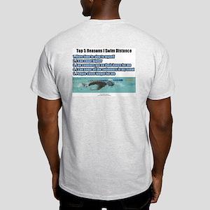 Distance Swimmer Ash Grey T-Shirt