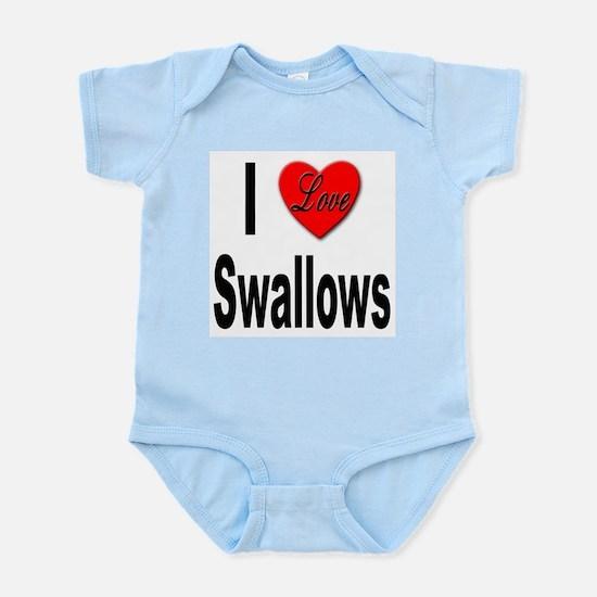 I Love Swallows Infant Creeper