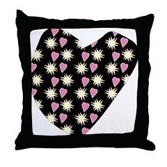 Love Fireworks Throw Pillow