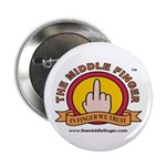 """The Middle Finger 2.25"""" Button (10 pack)"""