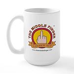 The Middle Finger Large Mug