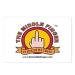 The Middle Finger Postcards (Package of 8)