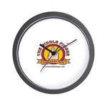 The Middle Finger Wall Clock