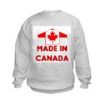 Made in Canada Kids Sweatshirt